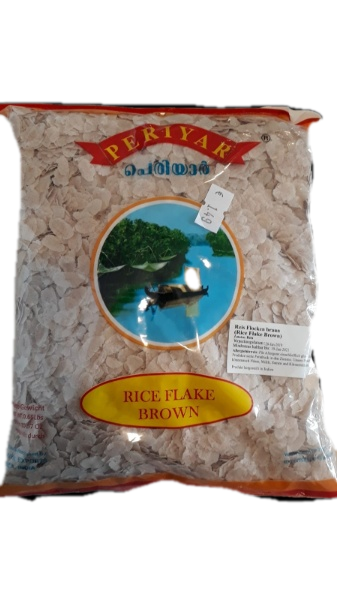 rice flakes brown