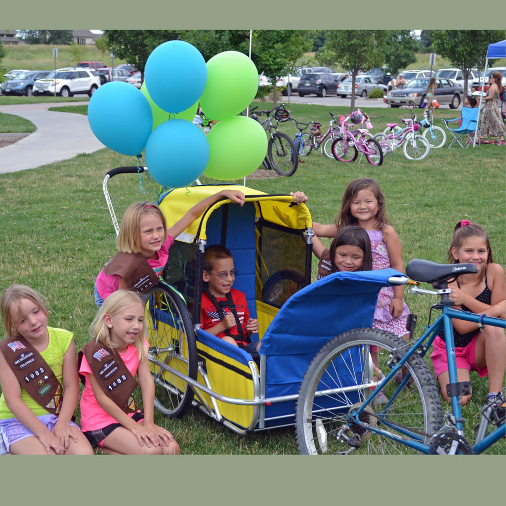 Girl Scouts Take on Cerebral Palsy