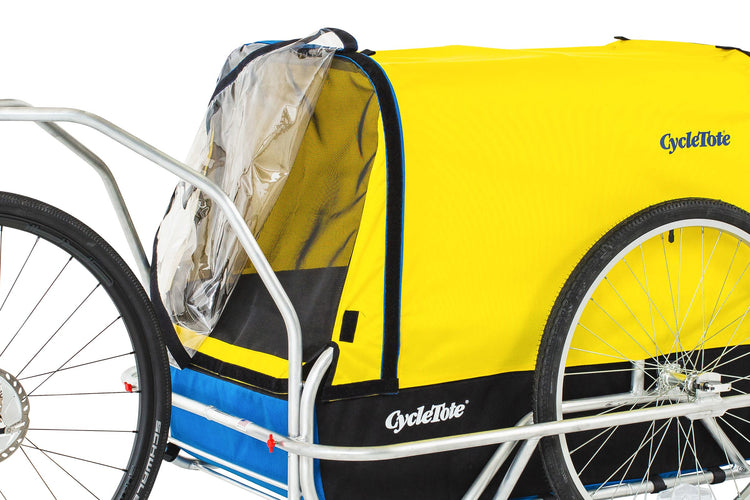 Large Dog Bike Trailer: Carries up to 175 lbs
