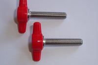Red Set Screws for Tow Bar