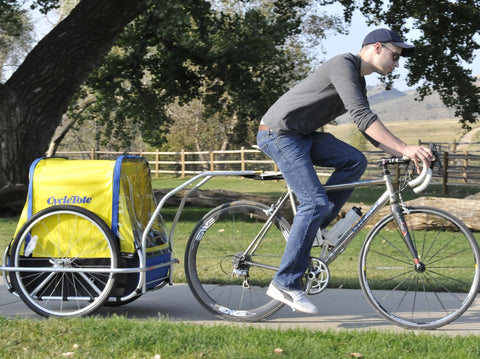 Dog Bicycle Trailer - Small (carries up to 100 lbs)