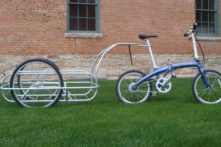Utility bicycle trailer