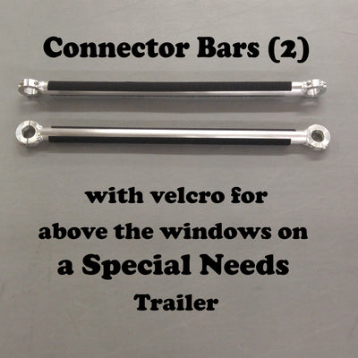 SPECIAL NEEDS TRAILER: Side Connector Bars (2)