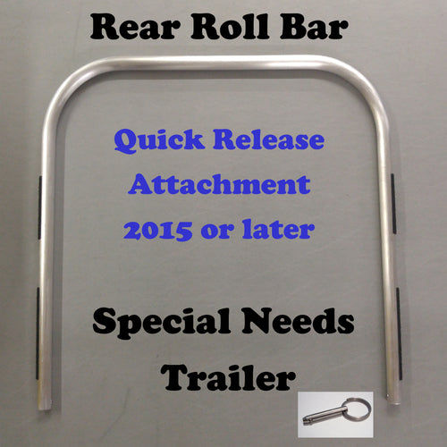SPECIAL NEEDS TRAILER: Rear Roll Bar