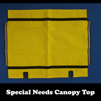 SPECIAL NEEDS TRAILER: Canopy Top