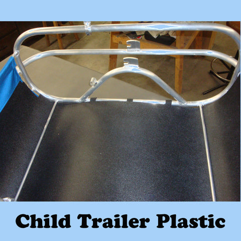 Child Trailer Replacement Black Plastic Insert