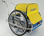 Convert Utility Trailer to Child Trailer