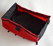 CARGO TRAILER SMALL: Bottom - Red/Black