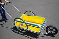 Jogger attachment for your CycleTote bicycle trailer