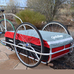 Cargo Trailer - Large in Red/Grey/Black