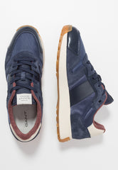 GANT Navy Comfortable Smart-Casual Runners at StylishGuy Men's Boutique