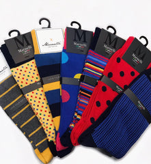Marnelli Stylish Cotton Socks at StylishGuy Menswear