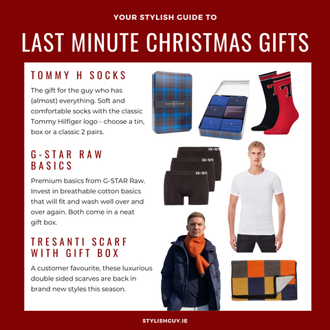 Last Minute Christmas Presents for Men at StylishGuy Menswear