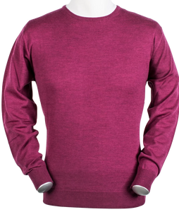 Merino Wool Jumper Purple