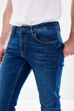 Load image into Gallery viewer, Blue Wash Men's Denim Jeans from Mineral Jeans Ireland at StylishGuy Menswear