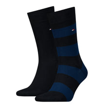 Load image into Gallery viewer, Block Stripe Socks (2 Pack)