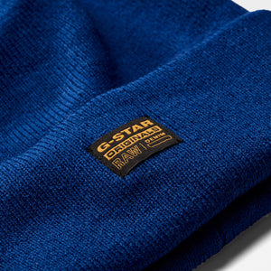 "Blue ""Effo"" Knitted Beanie from G Star Raw at StylishGuy Menswear Boutique Dublin"
