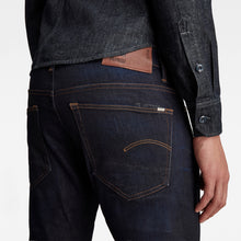 Load image into Gallery viewer, 3301 Dark Straight Tapered Jeans