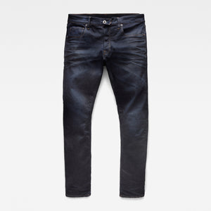 3301 Dark Straight Tapered Jeans