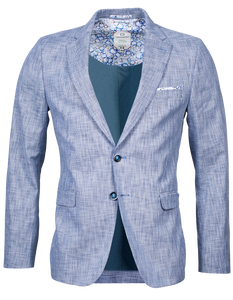 Giordano Navy and White Woven Blazer at StylishGuy Menswear