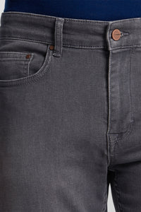 Slim-Fit Straight Leg Grey Jeans from Van Gils at StylishGuy Menswear