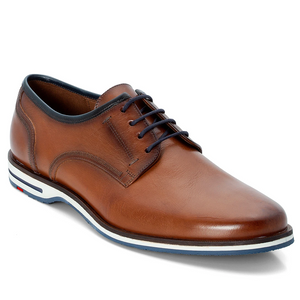 "LLOYD ""DETROIT"" Cognac Leather Shoe at StylishGuy Menswear"