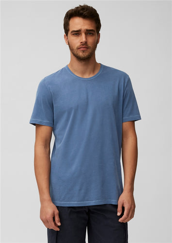Marc O'Polo Organic Cotton Marine Blue T-Shirt