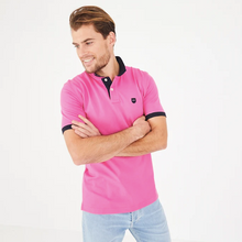 Load image into Gallery viewer, Eden Park Dark Pink Pima Cotton Piqué Polo
