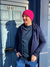 Load image into Gallery viewer, Pink Effo Knitted Beanie Hat from G-Star RAW at StylishGuy Menswear Dublin