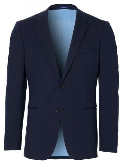 Plain Navy Smart-Casual Blazer from Van Gils Fashion at StylishGuy Menswear Boutique Dublin 3
