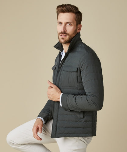 Profuomo Army Lightweight Down Jacket from StylishGuy Menswear