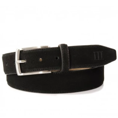 Tresanti Black Suede Belt