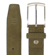 Load image into Gallery viewer, Olive Suede Belt