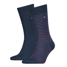 Load image into Gallery viewer, Thin Stripe Socks (2 Pack)