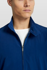 Van Gils Blue Bomber Jacket at StylishGuy Menswear Collar