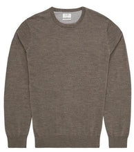 Load image into Gallery viewer, Van Gils Taupe Round-Neck Pullover Knit at StylishGuy Menswear