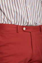 Load image into Gallery viewer, Van Gils Dark Red Cotton Shorts