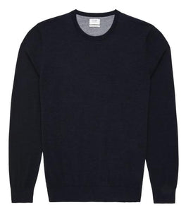 Van Gils Navy Basic Pullover Knit at StylishGuy Menswear