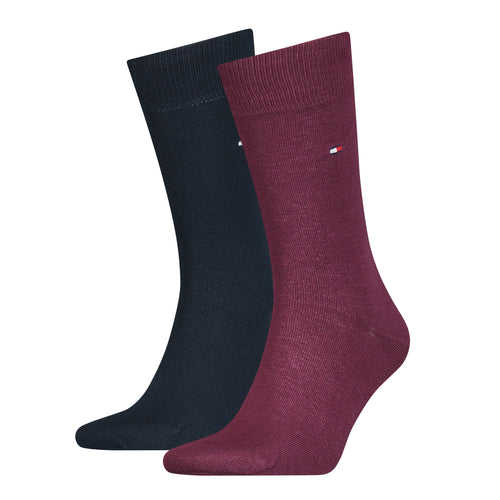 Classic Plain Socks (2 Pack)