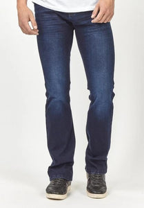 Blue Tapered Jeans
