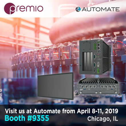 Premio Performance Edge Computers at Automate 2019