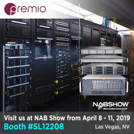 Join Premio at NAB 2019 at Booth # SL12208