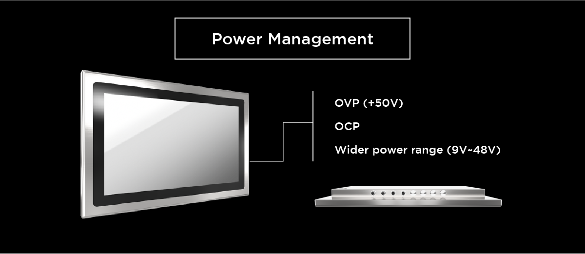 power-management-for-stainless-steel-IP69K-panel-PC