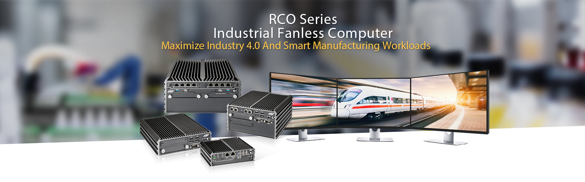 RCO Series Industrial Fanless Computer
