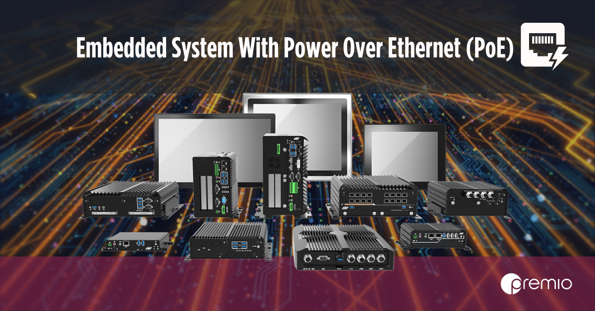 embedded systems with PoE