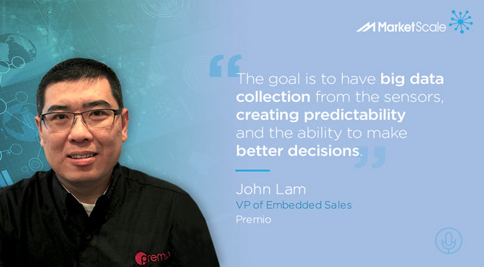 John Lam, Premio VP of Embedded Sales