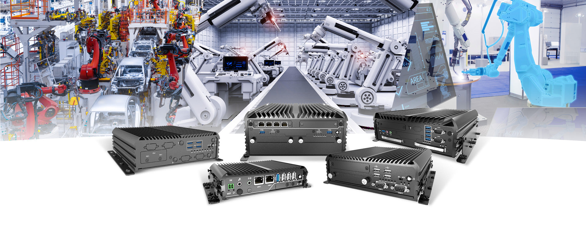 Rugged Fanless Industrial Computer