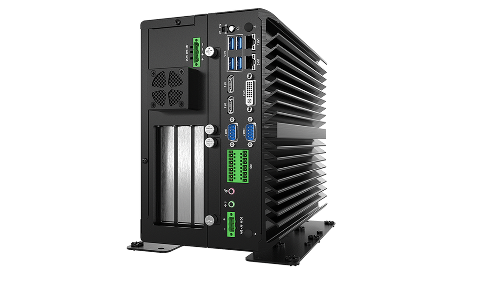 VCO-6033E-2PWR Industrial GPU Computer with 6th/7th Gen Intel® Core™ Processor and Q170 PCH, Supports up to RTX 2060 Super GPU