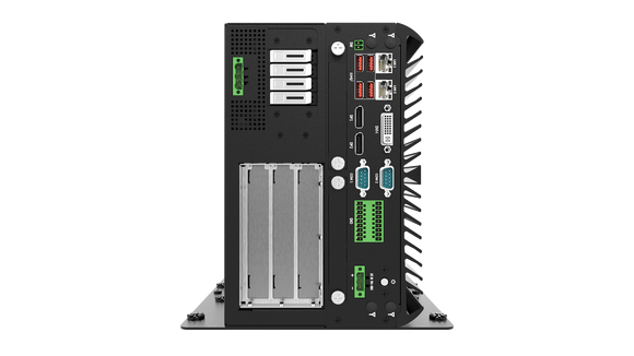 VCO-6131E-4M2 AI Edge Inference Computer with 8th/9th Gen Intel® Core™ Processor, 4x Hotswap M.2 NVMe