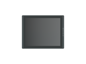 "VIO-117-PC300 17"" 4:3 IP65 Industrial Touchscreen Computer"